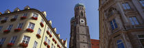 Low Angle View Of A Cathedral, Frauenkirche, Munich, Germany by Panoramic Images