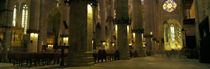 Interiors of a cathedral, La Seu, Palma, Majorca, Balearic Islands, Spain by Panoramic Images