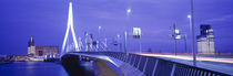 Erasmus Bridge Rotterdam Netherlands by Panoramic Images