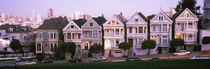The Seven Sisters, Painted Ladies, Alamo Square, San Francisco, California, USA von Panoramic Images