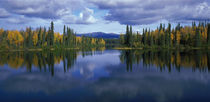 Dragon Lake Yukon Canada by Panoramic Images