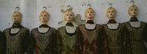 Group of mannequins in a market stall, Tripoli, Libya von Panoramic Images