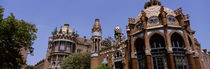 Low angle view of a hospital, Hospital De Sant Pau, Barcelona, Spain von Panoramic Images