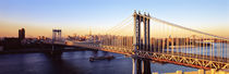 Manhattan Bridge, NYC, New York City, New York State, USA von Panoramic Images