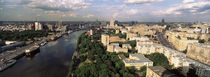 Aerial view of a city, Moscow, Russia by Panoramic Images