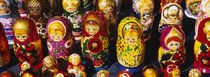 Close-up of Russian nesting dolls, Bulgaria von Panoramic Images