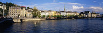 Switzerland, Zurich, Limmat River by Panoramic Images