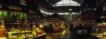 Interiors of a market, Saluhall Market, Stockholm, Sweden von Panoramic Images