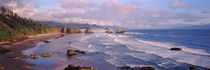 Seascape Cannon Beach OR USA by Panoramic Images