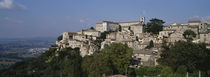 Houses on the top of a hill, Todi, Perugia, Umbria, Italy von Panoramic Images