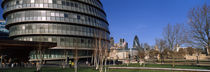 Buildings in a city, Sir Norman Foster Building, London, England von Panoramic Images