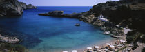 High angle view of a beach, Acropolis, Rhodes, Greece von Panoramic Images
