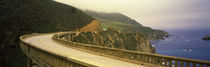 Bridge at the coast, Bixby Bridge, Big Sur, Monterey County, California, USA von Panoramic Images