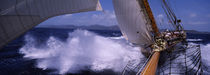 Sailboat in the sea, Antigua, Antigua and Barbuda by Panoramic Images