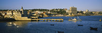 Buildings at the waterfront, Cascais, Lisbon, Portugal by Panoramic Images