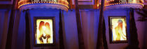 Strip club lit up at night, Las Vegas, Nevada, USA von Panoramic Images