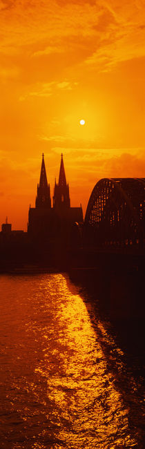 Hohenzollern Bridge, Cologne, Germany by Panoramic Images