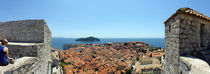 Island in the sea, Adriatic Sea, Lokrum Island, Dubrovnik, Croatia by Panoramic Images