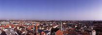 High angle view of a city, Munich, Bavaria, Germany von Panoramic Images
