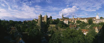 Castle in a city, Bautzen, Saxony, Germany by Panoramic Images