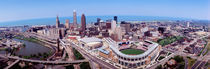 Aerial View Of Jacobs Field, Cleveland, Ohio, USA by Panoramic Images