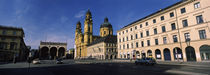 Theatine Church, Odeonsplatz, Munich, Bavaria, Germany by Panoramic Images