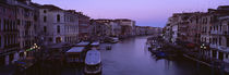 Buildings Along A Canal, Venice, Italy von Panoramic Images