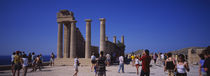 Acropolis, Lindos, Rhodes, Greece by Panoramic Images