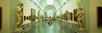 Interior Of Prado Museum, Madrid, Spain by Panoramic Images
