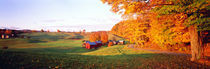 Fall Farm VT USA von Panoramic Images