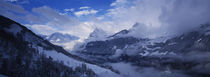 Clouds over mountains, Alps, Glarus, Switzerland von Panoramic Images
