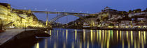 Night, Luis I Bridge, Porto, Portugal von Panoramic Images