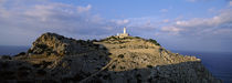 Lighthouse at a seaside, Majorca, Spain von Panoramic Images