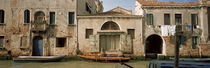Boats in a canal, Grand Canal, Rio Della Pieta, Venice, Italy by Panoramic Images