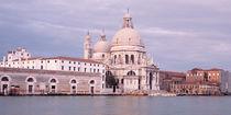 Panorama Print - Santa Maria della Salute Canale Grande Venedig Italien  von Panoramic Images