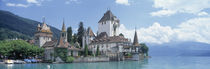 Oberhofen Castle Lake Thuner Switzerland von Panoramic Images