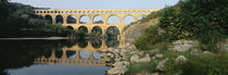 France, Nimes, Pont du Gard von Panoramic Images