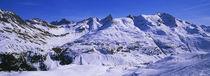 Snow on mountains, Zurs, Austria von Panoramic Images