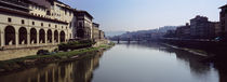 Ponte Vecchio, Arno River, Florence, Tuscany, Italy von Panoramic Images