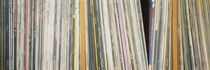 Row Of Music Records, Germany by Panoramic Images