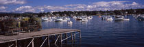 Boats in the sea, Bass Harbor, Hancock County, Maine, USA by Panoramic Images