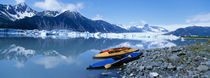 USA, Alaska, Kayaks by the side of a river by Panoramic Images