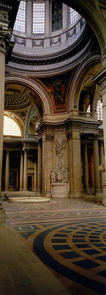 Pantheon Interior Paris France von Panoramic Images