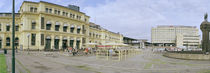 Facade of a railway station, Old Oslo Central Railway Station, Oslo, Norway by Panoramic Images