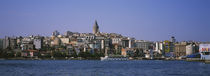 Buildings at the waterfront, Istanbul, Turkey by Panoramic Images