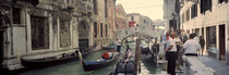 Buildings along a canal, Grand Canal, Rio Di Palazzo, Venice, Italy by Panoramic Images