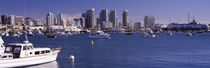 Buildings at the waterfront, San Diego, California, USA 2010 by Panoramic Images