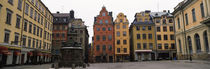 Buildings in a city, Stortorget, Gamla Stan, Stockholm, Sweden von Panoramic Images
