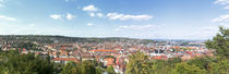 Buildings in a city, Stuttgart, Baden-Wurttemberg, Germany by Panoramic Images