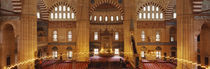 Interiors of a mosque, Selimiye Mosque, Edirne, Turkey by Panoramic Images